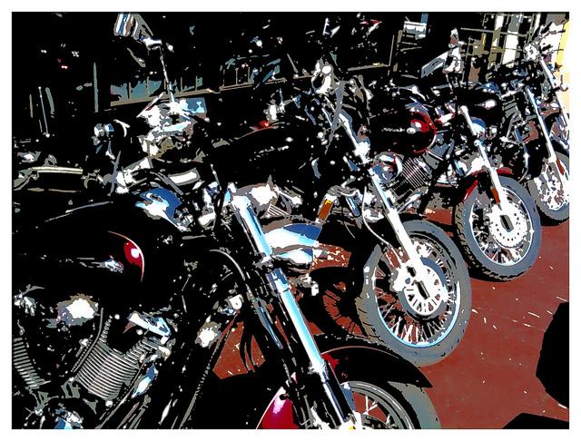 中古バイク店