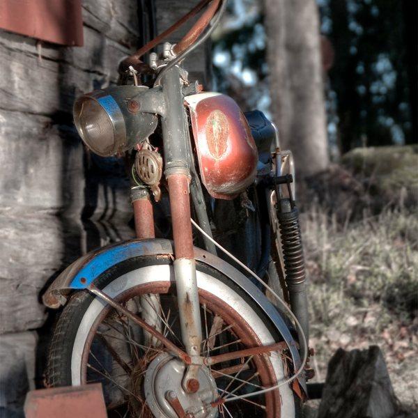 バイクのサビ